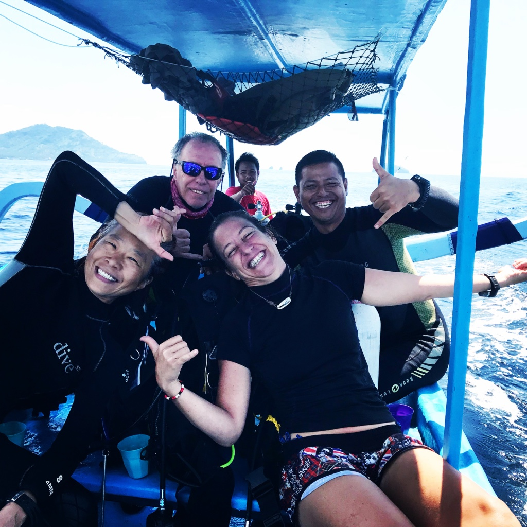 best diving in Candidasa Bali