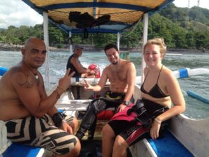 dive-bali-dive-candidasa-viktoria & Christopher - Southern Dreams Diving Club & Buceo Bali